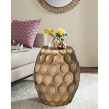 Load image into Gallery viewer, Roxanna Drum End Table 7378