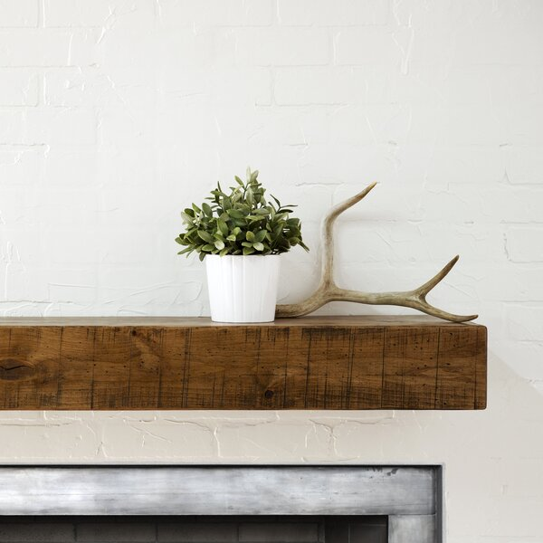 Rustic Fireplace Shelf Mantel #LX2060