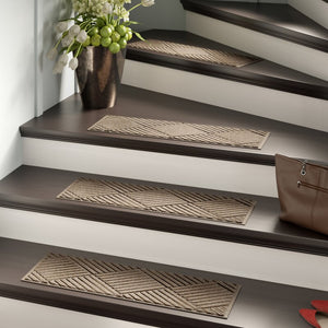 Beauvais Stair Tread Rugs (Set of 4)  #SA658