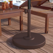 Load image into Gallery viewer, Moro Brown Metal Free Standing Umbrella Base  #SA755