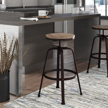 Load image into Gallery viewer, Mullings Adjustable Height Bar Stool  #SA776