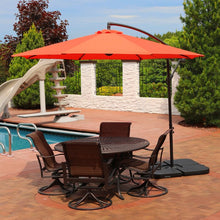 Load image into Gallery viewer, Raymundo Cantilever Burnt Orange Umbrella  #SA807