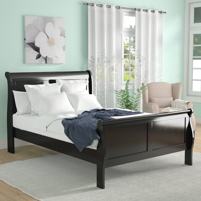 Larrabee Sleigh Bed *Headboard and Footboard Only* - Queen  #SA865