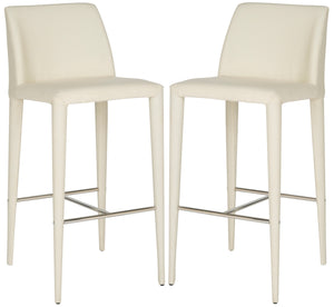 Garretson Beige Linen Bar Stools (Set of 2) *As Is*  #SA943