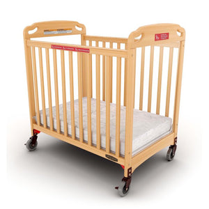 Safe Haven Professional Series Evacuation Mini Portable Crib with Mattress (#33)
