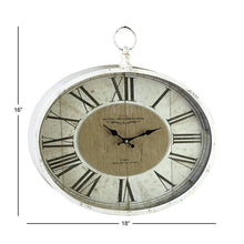 Load image into Gallery viewer, Saint-Denis Metal Wall Clock 2202