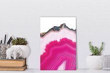 Load image into Gallery viewer, Pink agate slice Dr254