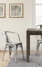Load image into Gallery viewer, Set of 2 - Carlisle Metal Dining Chair, Natural (#295 - 2 BOXES)