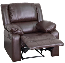 Load image into Gallery viewer, Harmony Leather Recliner, Brown (#K2275)