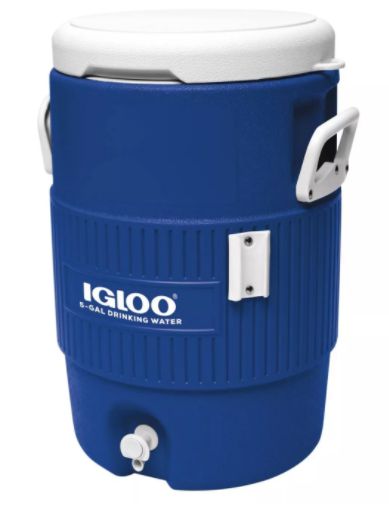 Igloo 5 Gallon Beverage Cooler, Blue (#K2307)
