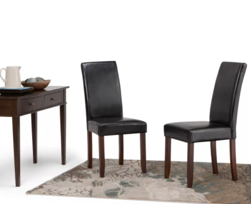 Set of 2 - Normandy Parson Dining Chairs (#K2311)