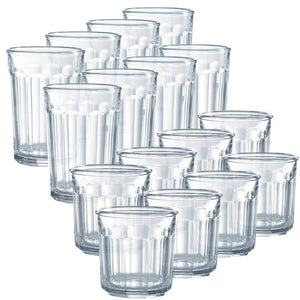 Tia 16 Piece Assorted Glassware Set 2280