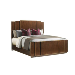 Lexington Tower Place Standard Headboard and Footboard Set - King (#168 - 2 BOXES)