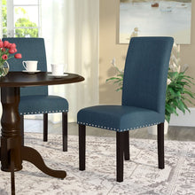 Load image into Gallery viewer, SET OF 2 Towry upholstered dining chair #9034