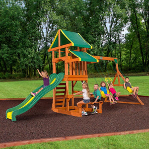 Tucson All Cedar Swing Set (#506)