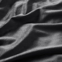 Load image into Gallery viewer, Charcoal Velvet To Berber Blanket K7728
