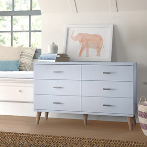 Wallingford 6 Drawer Double Dresser (#604)