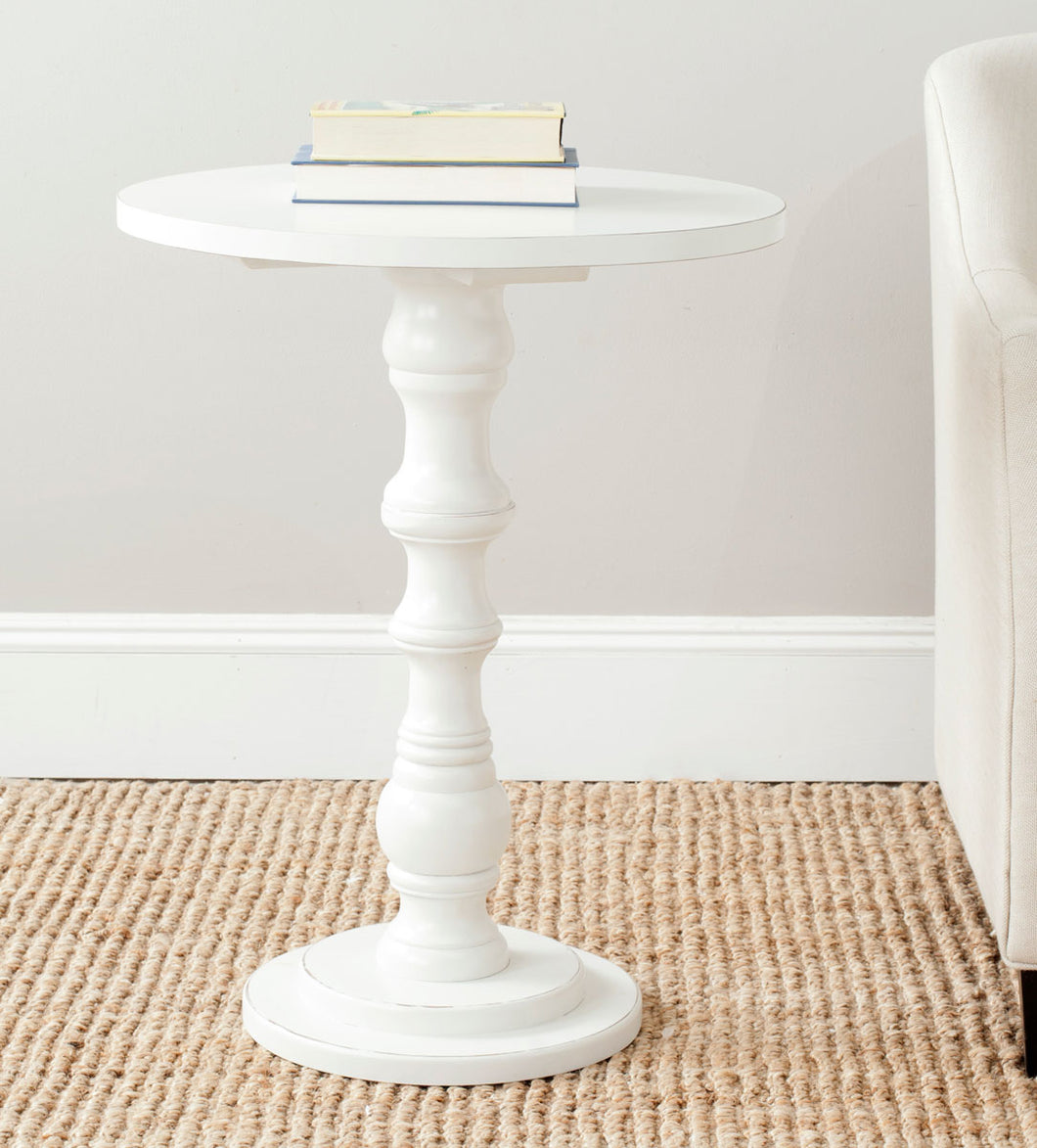 Greta Accent Table, Off-White