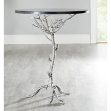 Load image into Gallery viewer, Carolyn End Table, Black and Silver (#K2505)
