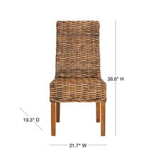 Load image into Gallery viewer, Sanibel Brown Mango Wood Side Chair (Set of 2) #HA701