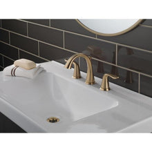 Load image into Gallery viewer, Lahara Widespread bathroom faucet with drain assembly. #9003