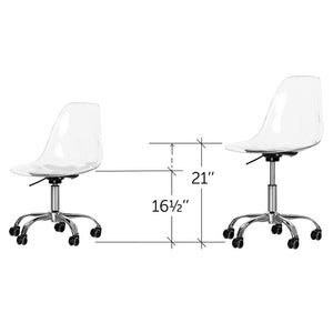 Annexe Task Chair, Clear (#K2202)
