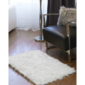 Escobedo White 2' x 3' Area Rug #LX2030