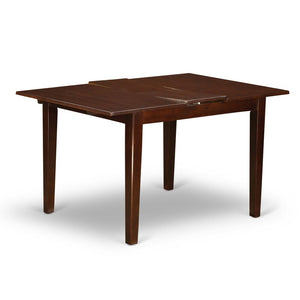 Mahogany Balfor Butterfly Leaf Solid Wood Dining Table #LX2049
