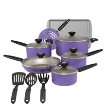 Load image into Gallery viewer, SilverStone 14 Piece Aluminum Non Stick Cookware Set #LX2052