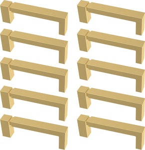 Asymmetrice Notched Cabinet Handles - 80pc Multipack - #8466T