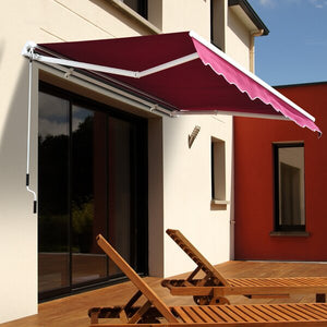 Outsunny 8' x 7' Fabric Patio Awning