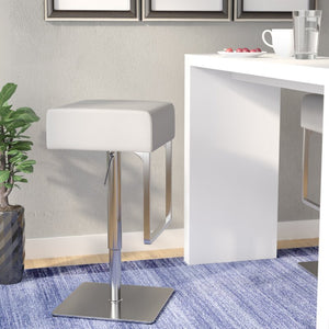Sophocles Swivel Adjustable Height Bar Stool - #8451T