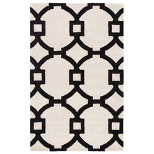 Load image into Gallery viewer, Bohara Trellis Hand-Tufted Wool Gray 2' x 3' Area Rug #LX8924