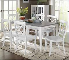 Helena Dining Table ONLY Gray/White (#HA543)