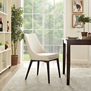 SET OF 2 Viscount dining chairs, beige #CR2071 (2 boxes)