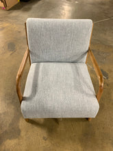 Load image into Gallery viewer, Ronaldo Armchair, Light Gray
