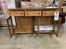"Load image into Gallery viewer, Laurelhurst 66"" Solid Red Oak Buffet"
