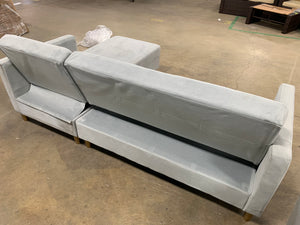 "Liberty 84"" Reversible Sleeper Sectional"
