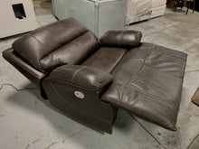 Load image into Gallery viewer, Alvey Wide Seat Leather Power Recliner