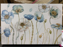 Load image into Gallery viewer, 'My Greenhouse Flowers I' - Graphic Art on Wrapped Canvas  #SA643