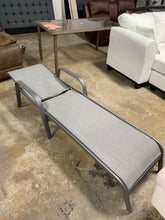 Load image into Gallery viewer, Outdoor Patio Chaise Lounge, Gray