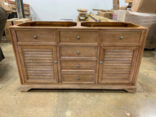 "Load image into Gallery viewer, James Martin Savannah 60"" Double Bathroom Vanity in Driftwood"