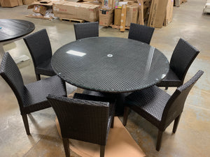 Tegan 8 Piece Dining Set *As Is*