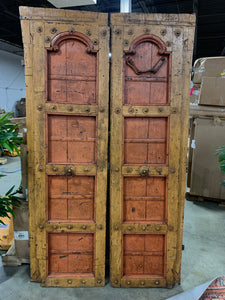 Indian Panel Door, Pair