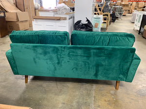 Clovis Sofa, Green