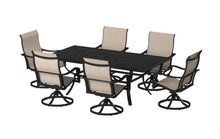 Load image into Gallery viewer, Snover Aluminum 7 Piece Sunbrella Dining Set (3 boxes) JJ675