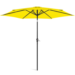 "9"" Market Umbrella: YELLOW #LX2005"