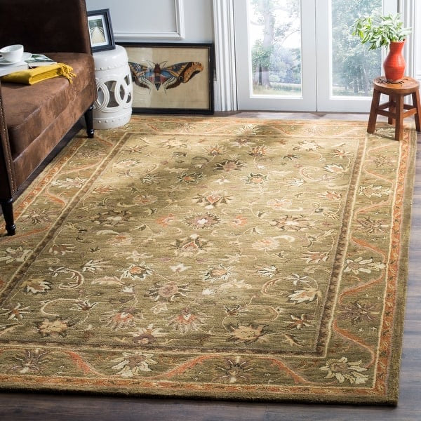 "Handmade Antiquity Manerva Traditional Oriental Area Rug, 8'3""x 11' (#28R)"