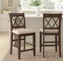 "Load image into Gallery viewer, (Set of 2) Clearmont 24"" Counter Stool CG503"