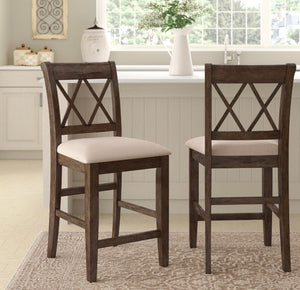 "(Set of 2) Clearmont 24"" Counter Stool CG503"